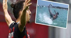 Tin bóng đá sáng 12/8: Ibrahimovic lặp lại siêu phẩm