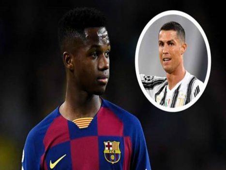 Tin bóng đá ngày 20/8: Ansu Fati thay đổi người đại diện