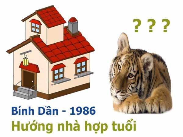 Xem hướng nhà tuổi Bính Dần 1986 giúp gia chủ hanh thông tài lộc