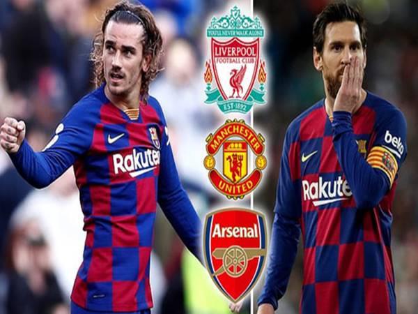Tin chuyển nhượng 7/9: MU, Liverpool và Arsenal hí hửng vị Griezmann
