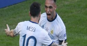 Bóng đá QT tối 20/10: Lautaro Martinez ca ngợi Messi hết lời