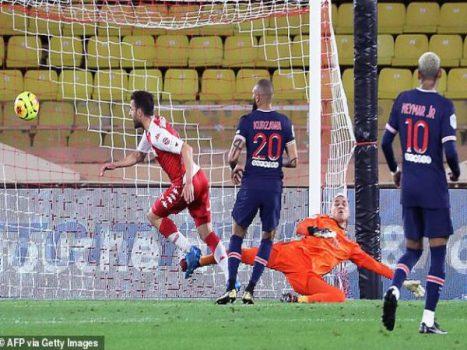 Bóng đá QT trưa 21/11: PSG nhận thất bại cay đắng trước Monaco