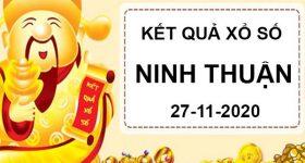 Phân tích sổ xố Ninh Thuận thứ 6 ngày 27/11/2020