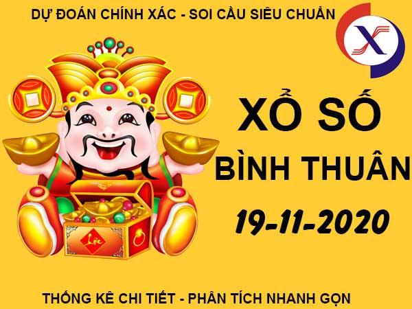 Phân tích KQSX Bình Thuận thứ 5 ngày 19/11/2020