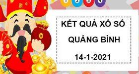 Phân tích xổ số Quảng Bình thứ 5 ngày 14/1/2021