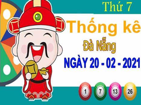 Thống kê XSDNG ngày 20/2/2021 – Thống kê xổ số Đà Nẵng thứ 7