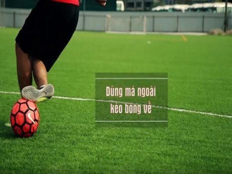 Kỹ thuật này được dùng khá phổ biến ở bất kỳ trận đấu bóng đá nào.