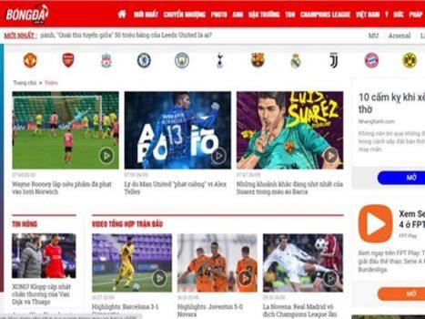 5 trang tổng hợp highlight bóng đá nhanh nhất