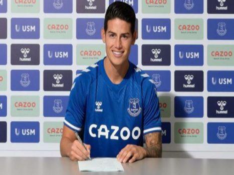 Bóng đá QT tối 29/4: James Rodriguez sắp được Everton gia hạn