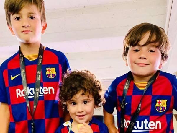 Con trai Messi có gì đặc biệt? dễ thương đến mức độ nào?