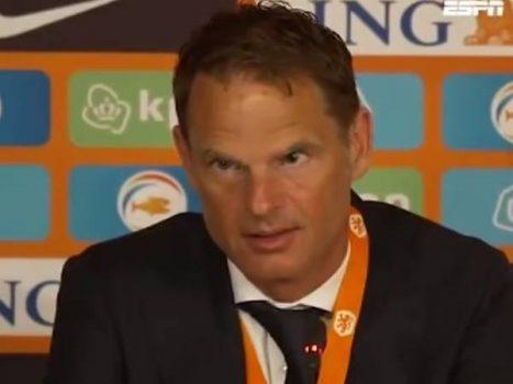 Bóng đá QT 4/6: HLV tuyển Hà Lan gây sốc khi nhầm cầu thủ