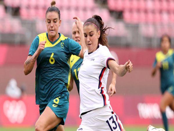 Nhận định kèo Nữ Úc vs Nữ Mỹ, 15h00 ngày 5/8 – Olympic 2021
