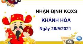 Nhận định KQXSKH ngày 26/9/2021 chốt số Khánh Hòa