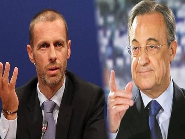 Tin bóng đá 11/9: Chủ tịch Real Madrid bị chủ tịch UEFA nói mỉa mai
