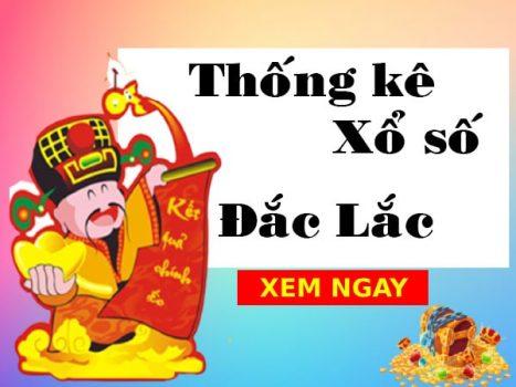 Thống kê xổ số Đắk Lắk 19/10/2021 thứ 3 chi tiết nhất